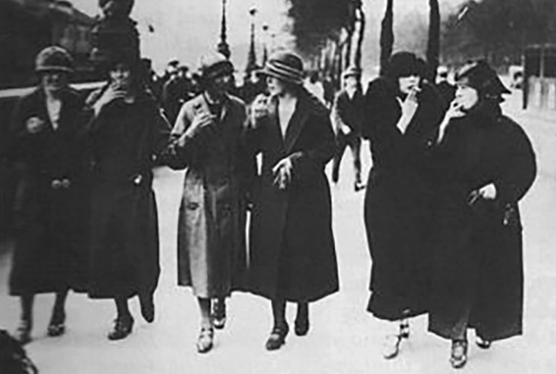 Image result for bernays torches of freedom suffragettes
